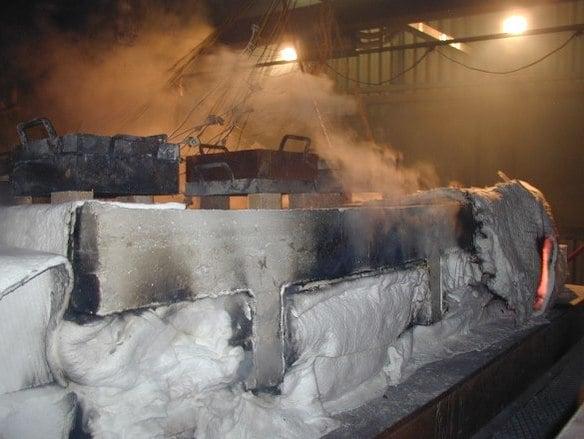 A contatto col fuoco, il calcestruzzo si comporta egregiamente.